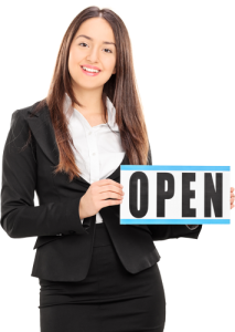 Girl Open